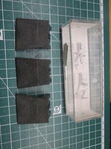 3 Stück Abdeckplatten für Drehscheibe von Fleischmann - 6681 Spur TT