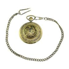 Analog Full Hunter Bronze Pocket Watches