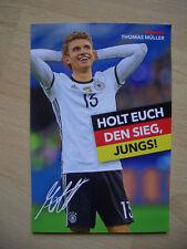 Thomas Müller,Autogrammkarte aus Bravo,Neu,Rar