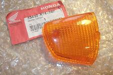 HONDA NSR125  1989>1992  GENUINE RIGHT HAND FRONT FLASHER LENS - # 33402-KY4-880