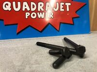 Quadrajet Carb Carburetor Mounting Bolts 65-85 GM Rochester 4bbl Thick Gasket