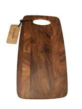Ironwood Gourmet 28141 Calistoga End Grain Cheese Board, Acacia Wood