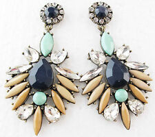 bib statement crystal long Earrings 183 Hot Exquisite New design women gorgeous