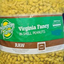 Raw VIRGINIA Jumbo In-the-Shell PEANUTS Nuts 4 lbs 4# UNSALTED