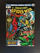 Amazing Spider-Man #124 Marvel 1973 1st Appearance of Man-Wolf Stan Lee Hot Key