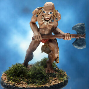Painted RAFM Miniatures Cave Giant on Hunt II