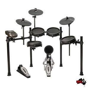 ALESIS Nitro Mesh 5 Piece Electronic Mesh Head Drumkit with Module & 3 Cymbals
