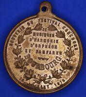 France medal Souvenir Du Grand Concours Bourbourg 1876 [18165]