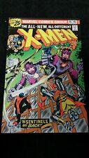 1976 Marvel Comic X-Men #98 Vf- Sentinels Key Bronze Age Vintage Chris Claremont