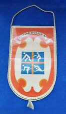 1980 Variety Sports Pennant Emblem XXII Olympic Games Moscow 80 Vintage USSR ☭