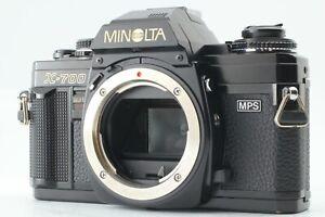 <EX++++> Minolta X-700 Black 35mm Used SLR Manual MF Film Camera Body Japan 1493