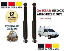 FOR VOLKSWAGEN VW CADDY VAN 1994-2004 2 x REAR SHOCK STRUT SHOCKER ABSORBER SET