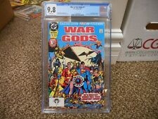 War of the Gods 1 cgc 9.8 DC 1991 Superman Shazam Wonder Woman cover WHITE pgs