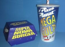 TOY STORY PIZZA PLANET CUP AND BOX REPLICA SET