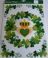 St Patrick's Day Window cling   WITH THESE HANDS I GIVE YOU MY HEART