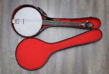 Antique 1924 Weymann & Son Banjo #35769-150 w/ MOP Inlay & Case
