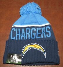 New Era NFL Los Angeles Chargers Sport Knit (Navy/Blue/Yellow) NEW>FREE SHIPPING