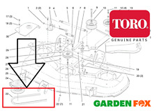 "Genuine TORO 270H - 52"" DECK (78252) - Deck DRIVE BELT -94-4399 or 94-2513 - 563"