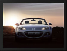 2013 MAZDA MX5 ROADSTER NEW A3 FRAMED PHOTOGRAPHIC PRINT POSTER