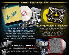 "Jack White & The Bricks - Third Man Records Vault #15 Complete LP/7""/DVD Sealed"
