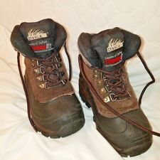 Children's Size 11 Itasca Ice Breakers Brown Boots Thermo lite Insoles