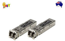 Lot of 2 Cisco MGBSX1 Gigabit SX SFP Transceivers 6 Month Wty., Tax Invoice