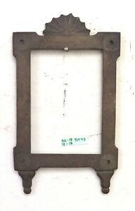 32x18 cm CORNICE ANTICA IN BRONZO ART NOUVEAU STILE LIBERTY FOTO QUADRO BM43