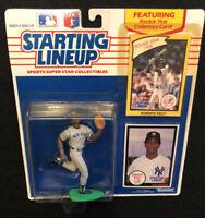 1990 ROBERTO KELLY Starting Lineup NY Yankees New York Sealed SLU MLB