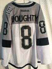 Reebok Premier Jersey Los Angeles Kings Drew Doughty Stadium Series  Grey sz 2X