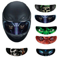 Motorcycle Helmet Decoration Sticker Detachable Racing Helmet Lens Visor Cool GT