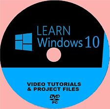 EASY TO LEARN WINDOWS 10 PROFESSIONAL VIDEO TRAINING SYSTEM BY EXPERTS NEW PCDVD