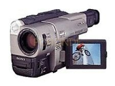 SONY CCDTRV 57 Hi-8 video 8 8mm NTSC VIDEOCAMERA - 0 LUX 20x ZOOM (CCD-TRV57)
