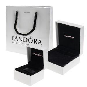 Genuine PANDORA Charm Box, Ring Box, Bracelet box, Gift Box, Velvet Pouch Ribbon