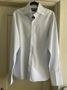 Tom Ford Mens Blue Shirt, Large, Good Condition, Size 42