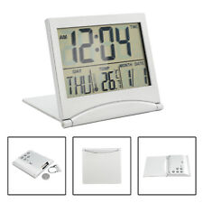 Home Digital LCD Screen Travel Alarm Clocks convenient Thermometer Timer clock