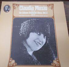 Claudia Muzio on Edison Diamond Discs Vol 2.  33RPM BL33793 MONO   092416LLE