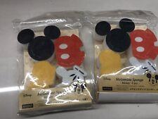 Disney Mickey Mouse Melamine Sponge 8Pcs New