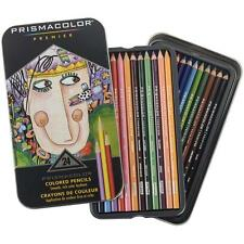 Sanford Prismacolor Premier Colored Pencils set of 24 Brand New DENTED TIN