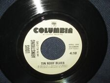 "Louis Armstrong and His All Stars ""Tin Roof Blues/Mack the Knife"" 45"
