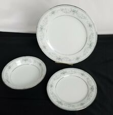 Colburn 6107 by Noritake China Luncheon Bread Plate and Frui bowl 3 pieces