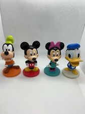 Kelloggs Disney Bobblehead Figures, Mickey & Minnie Mouse, Goofy Donald Duck