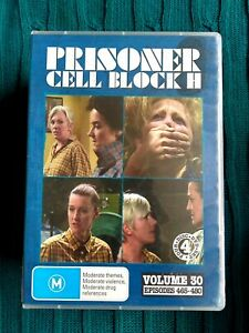 PRISONER CELL BLOCK H – VOLUME 30 – DVD, 4-DISC SET R-ALL, VERY GOOD, FREE POST