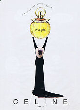 PUBLICITE ADVERTISING 084 1997 CELINE eau de parfum Magic