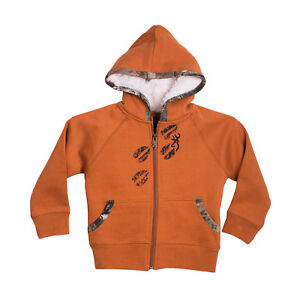 Browning Buckmark CUTE Toddler 3T Cathay Spice KatyDid Full-Zip Hooded Jacket