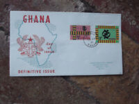 1961 GHANA DEFINITIVE ISSUE OFFICIAL FIRST DAY COVER 29 APRIL