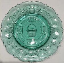 Longaberger Dresden Tour Plate 1997 Edition National Heisey Glass Museum, Newark