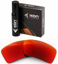 Polarized IKON Iridium Replacement Lenses For Oakley Eyepatch 2 + Red Mirror