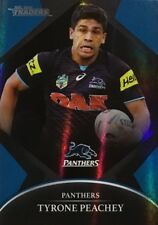 2016 NRL TRADERS PENRITH PANTHERS TYRONE PEACHEY PARALLEL CARD P105 FREE POST