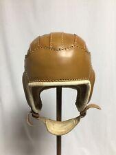 Football Helmet Vintage Leather Collector Item