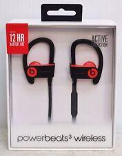 Beats by Dr. Dre Powerbeats3 Wireless Ear-Hook Headphones - Siren Red new